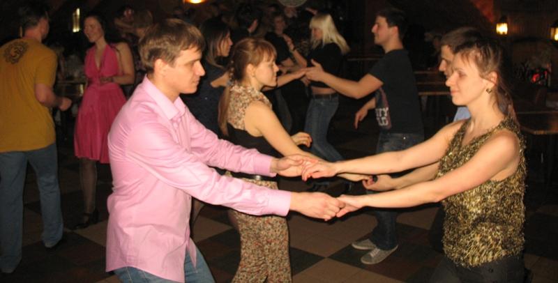 парные танцы - хастл и вкс